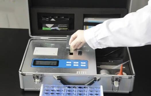 實驗土壤肥料檢測儀操作過程視頻